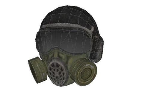 Gas Mask Papercraft - s t a l k e r clear sky mask papercraft free