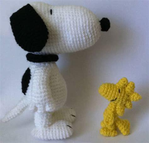 amigurumi snoopy pattern snoopy and woodstock crochet