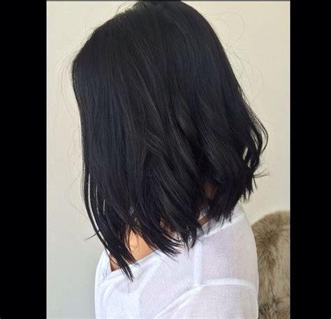 darl hair lob dark bobs and hairstyles on pinterest