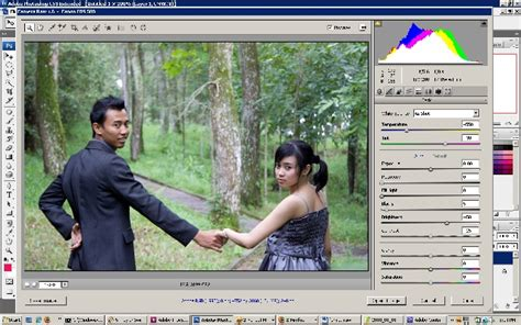 cara edit foto prewedding photoshop cs3 sambelgaring com raw