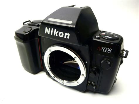 recommended nikon film camera nikon n8008 35mm slr film camera body only
