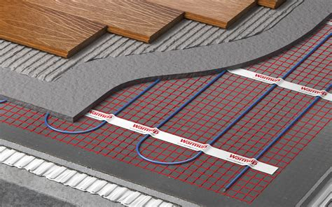 In Floor Heating by Wood Flooring And Underfloor Heating A Match Made In