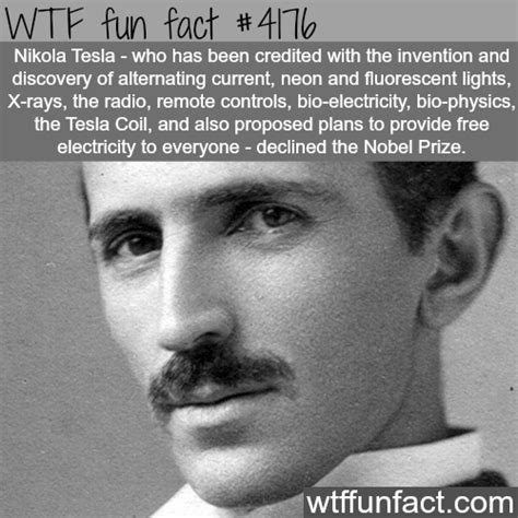 Facts On Nikola Tesla Facts Interesting Facts To