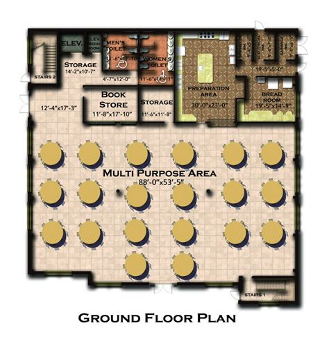 multi purpose hall floor plan new building floor plan and features coptic orthodox
