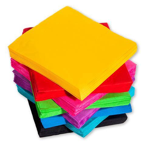 colored napkins solid color paper napkins five below