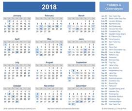 Calendar 2018 South Africa With Holidays 2018 Calendar With Holidays South Africa Yearly Calendar