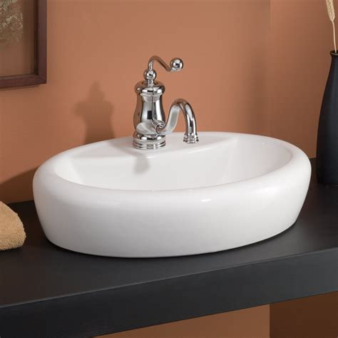 cheviot bathroom sinks cheviot 1273 wh 1 milano overcounter self rimming bathroom