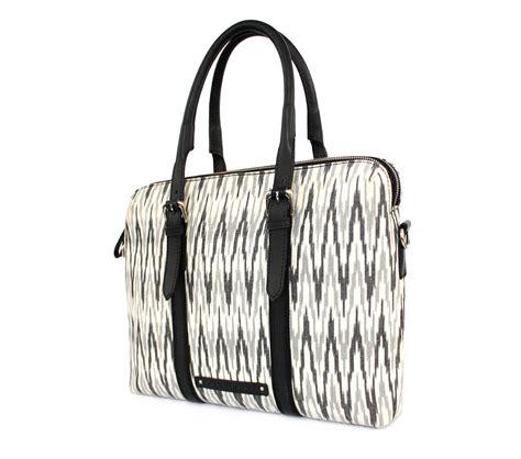 Dual Bag In Bag Pc ikat dual zip leather bags laptop bags for nappa dori