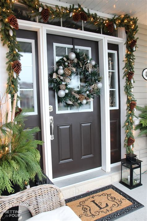 christmas entryway decorating ideas entry ways ideas welcoming christmas entryway door d 233 cor ideas best home