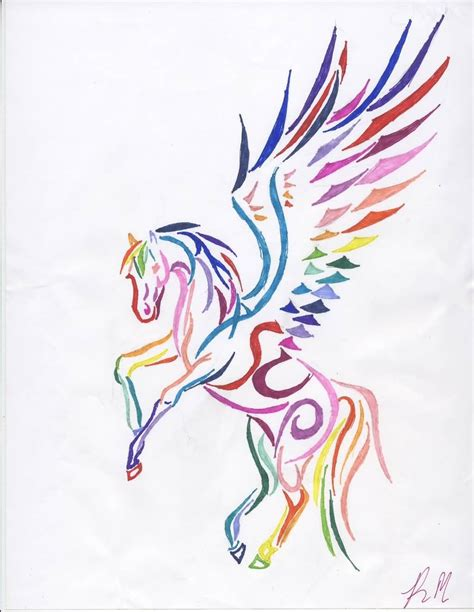 nice tattoo design 100 sketches pegasus tattoos drawings golfian