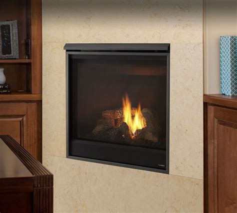 Novus Fireplace by Gas Fireplaces Novus Kastle Fireplace