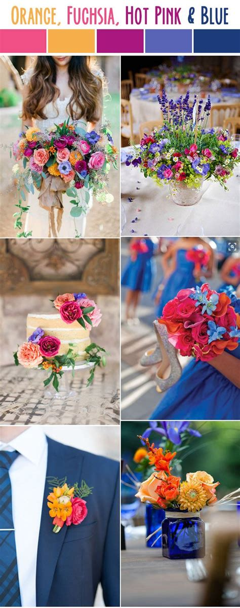 orange wedding colors best 25 summer wedding colors ideas on