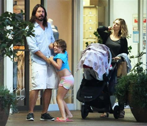 dave grohl takes his family to dinner zimbio