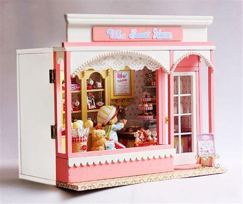 doll house store diy kid doll house miniature furniture candy stores wooden toy house for sale jpg