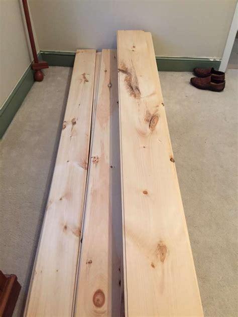 diy wood floor l diy unfinished wide pine floors review lehman