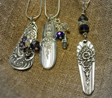 make jewelry from silverware 1000 images about handcrafted jewelry on