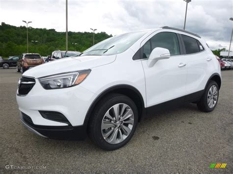 buick encore 2017 white 2017 summit white buick encore preferred awd 120883361