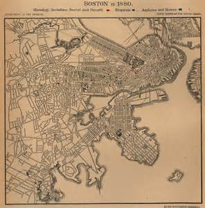 Old Map Of Boston by Massachusetts Maps Perry Casta 241 Eda Map Collection Ut