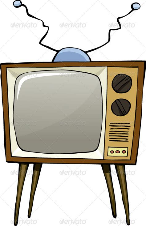picture of television tv graphicriver