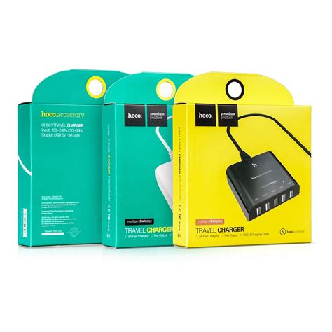Sale Hoco Wall Charger 5 Port 8a Intelligent Balance Usb 3 0 Uh501 hoco uh501 intelligent balance usb 3 0 wall travel charger