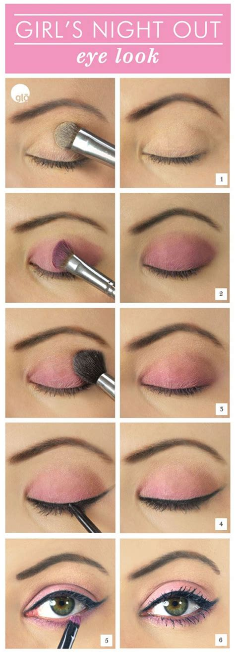tutorial makeup eyeshadow pink pretty pink eye makeup tutorials and ideas for a romantic