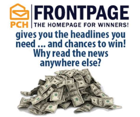 Pch Winner Selection List 2016 - frontpage pch blog