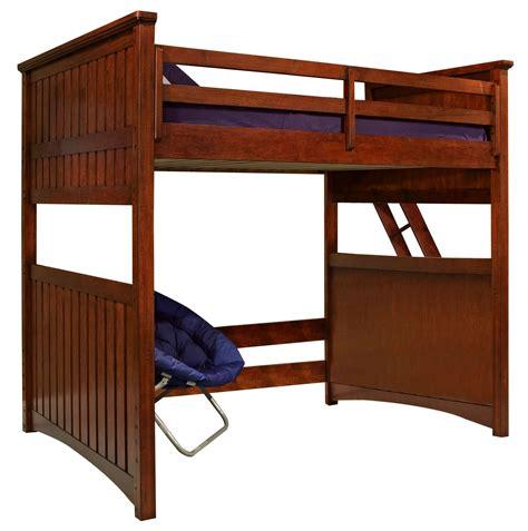 open bed dawsons ridge full open loft frame from legacy kids