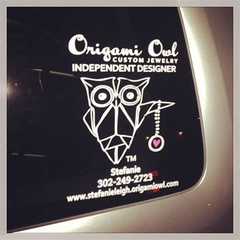 Origami Owl Car Decal - pin by origami owl stefanie yoder 28293 on o2