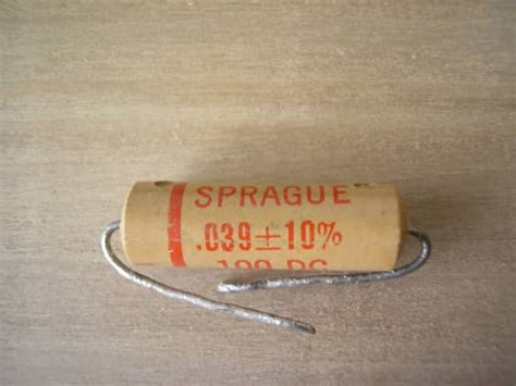 capacitor for single coil sprague 039 capacitor great to use with tele