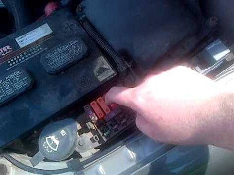 2002 chevy cavalier radiator fan not working walk around my 2002 chevrolet cavalier radiator fan