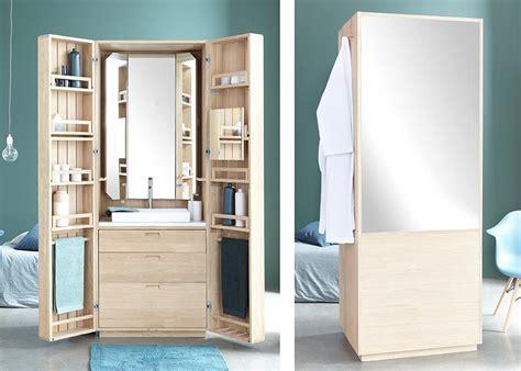 Space Saving Doors la cabine a hidden bathroom inside an elegant oak