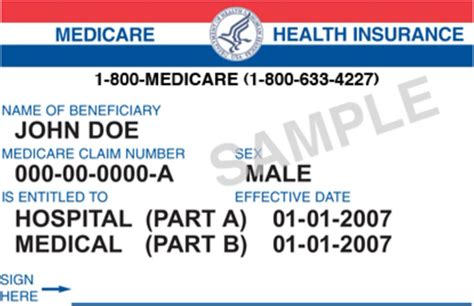 health insurance id card template free medicare facts medicare card free medicare facts