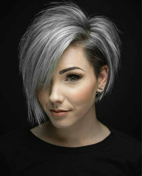 fine graycoming in of short bob hairstyles for 70 yr old grey bob hair pinterest bobs gray and hair style