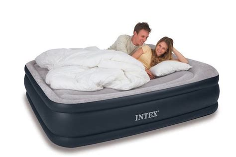 skip the get this intex pillow rest airbed raised air mattress bed with only