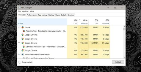 chrome high cpu usage how to find a tab with high cpu usage on chrome and firefox