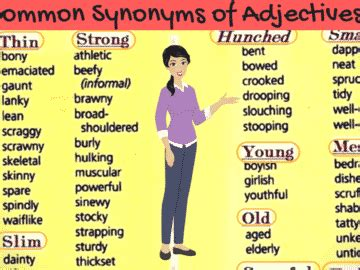 list of synonyms and antonyms in you should 100 synonyms to expand your vocabulary eslbuzz