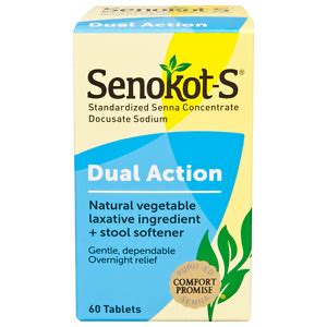 What Is A Stool Softener Vs Laxative by Senokot S Vegetable Laxative Plus Softener