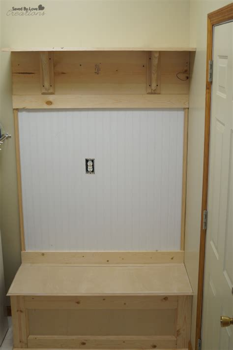 diy mudroom bench plans diy mudroom storage bench and coat rack