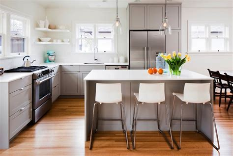 white  gray kitchen contemporary kitchen sophie