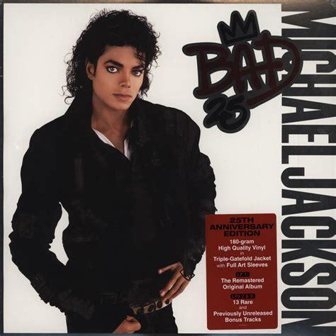 michael jackson bad vinyl original michael jackson bad 25th anniversary edition vinyl 3lp