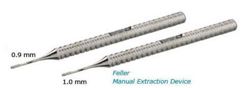 hair transplantation tools the evolution of follicular unit extraction fue