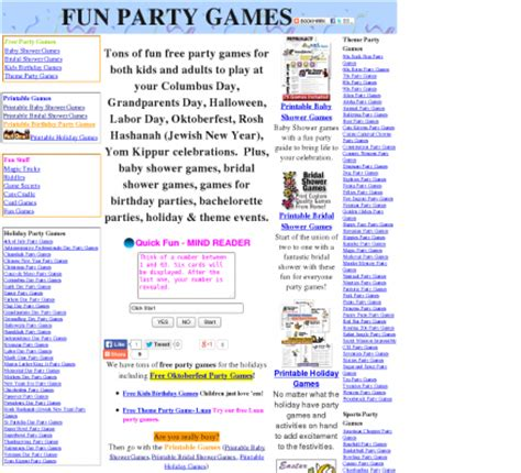 7 best images printable games for kids birthday parties