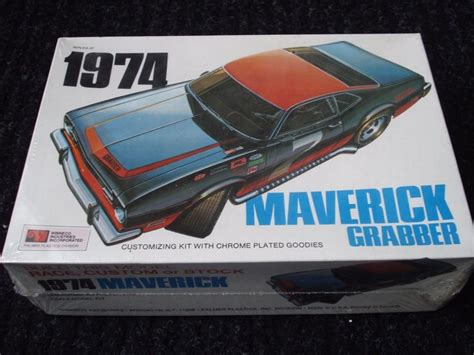 sealed  plastic  ford maverick grabber model kit