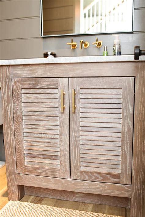louvered vanity cottage bathroom geoff chick