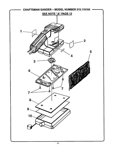 CRAFTSMAN SANDER MANUAL - Auto Electrical Wiring Diagram