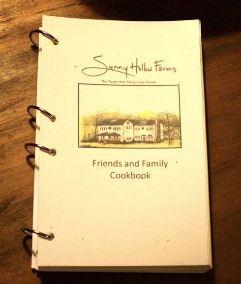 Friend And Family Cookbook hollow farms friends and family cookbook