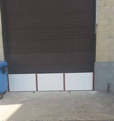 Garage Door Flood Protection by Flood Barriers For Garage Doors Stop Floods