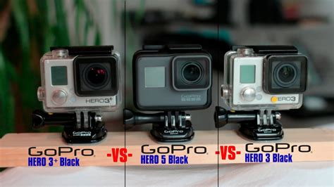 Gopro 3 Black gopro comparison 5 vs 3 black vs 3 black