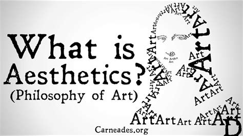 Philosophy And The Arts by What Is Aesthetics Philosophy Of