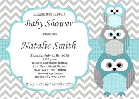 template baby shower invitations for a boy cheap baby shower invitations for boy